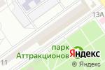 Схема проезда до компании Небо вашего дома в Волгограде