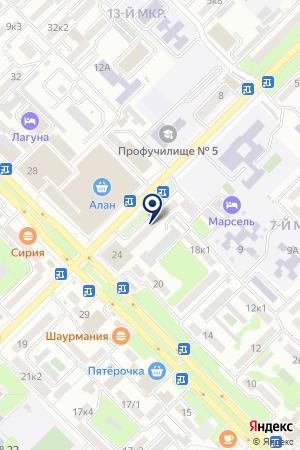 АПТЕКА на карте Владикавказа