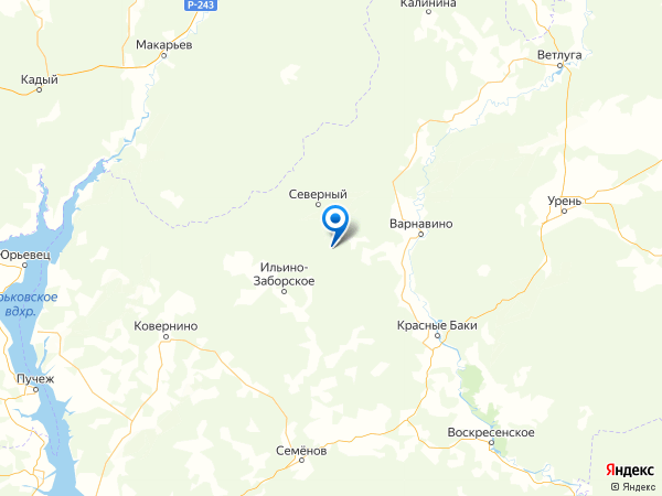 поселок Черемушки на карте
