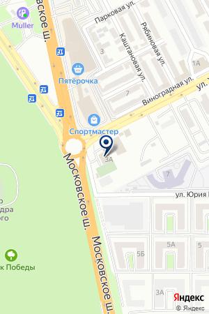 АЗС № 3 РОСНЕФТЬ-АРТАГ на карте Владикавказа