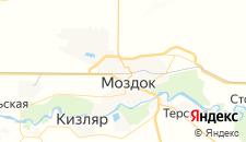 Отели города Моздок на карте