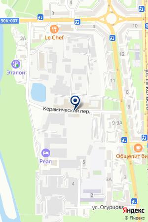 АВТОКОЛОННА № 1439 на карте Владикавказа