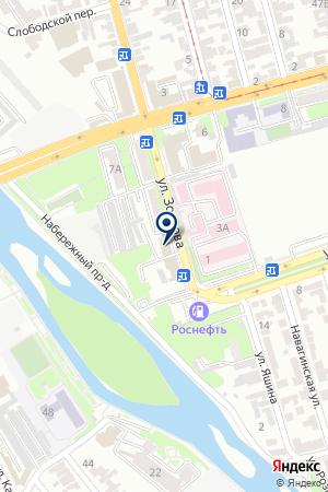 АЗС № 8 РОСНЕФТЬ-АРТАГ на карте Владикавказа