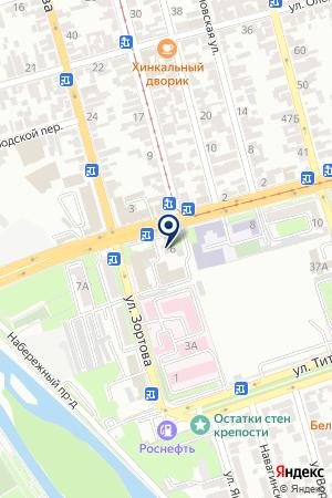 АППАРАТ МИРОВЫХ СУДЕЙ РСО-АЛАНИЯ на карте Владикавказа