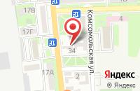 Схема проезда до компании Кадастровый Инженер в Подольске