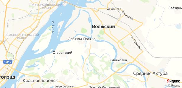 Кировец на карте