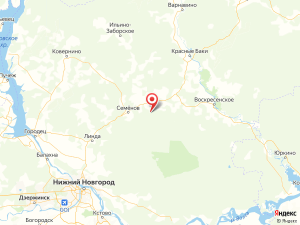 деревня Клушино на карте