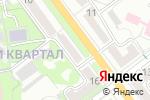 Схема проезда до компании Гардины в Волжском