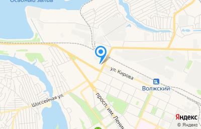 Местоположение на карте пункта техосмотра по адресу Волгоградская обл, г Волжский, ул им Ф.Г.Логинова, д 4