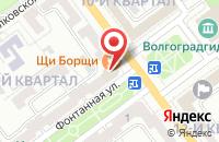 Схема проезда до компании АкваЛайн в Волжском