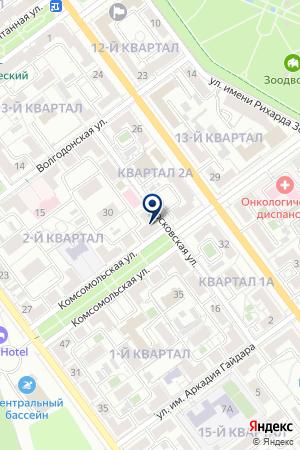 ЧУПИН В.В. ТРАНССЕРВИС на карте Волжского