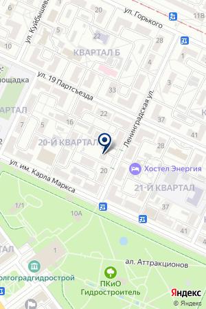 ВОЛГОХИМ на карте Волжского