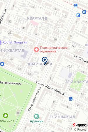 ЗАГС №1 Г.ВОЛЖСКОГО на карте Волжского