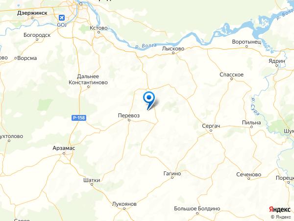 село Большие Бакалды на карте