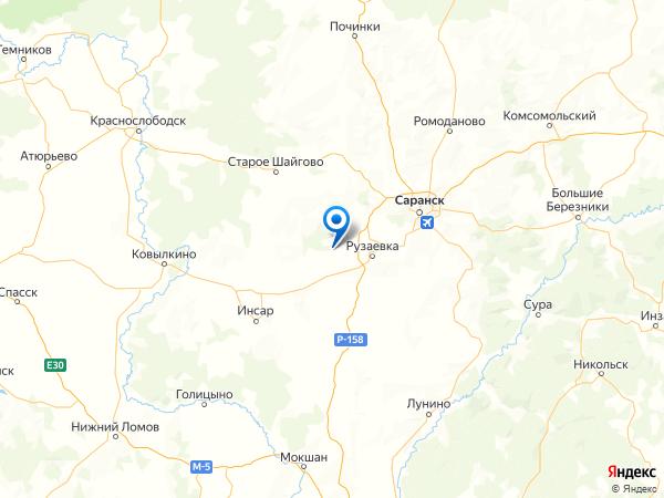 разъезд Пайгарм на карте