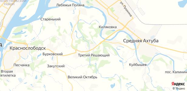 Новенький на карте