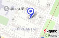 Схема проезда до компании ВОЛГАМЕДСЕРВИС в Волжском