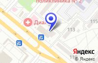 Схема проезда до компании КАФЕ НИАГАРА в Волжском