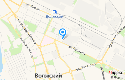 Местоположение на карте пункта техосмотра по адресу Волгоградская обл, г Волжский, ул Пушкина, д 33