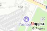 Схема проезда до компании У Потапа в Волжском