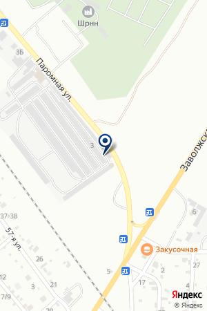 ГСК ВОЛНА на карте Волжского