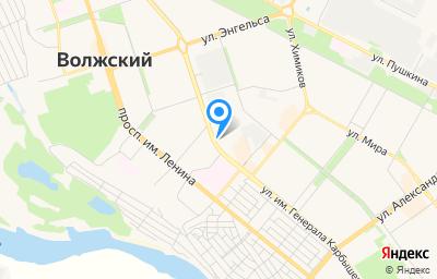Местоположение на карте пункта техосмотра по адресу Волгоградская обл, г Волжский, ул им генерала Карбышева, д 47Н
