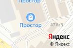 Схема проезда до компании Радуга мебели в Волжском