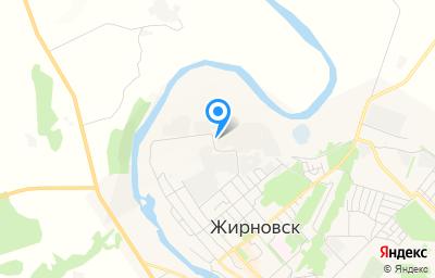 Местоположение на карте пункта техосмотра по адресу Волгоградская обл, г Жирновск, зона Промышленная