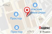 Схема проезда до компании Центр правовой защиты заемщика в Волжском