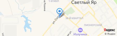 Банкомат Поволжский банк Сбербанка России на карте Светлого Яра