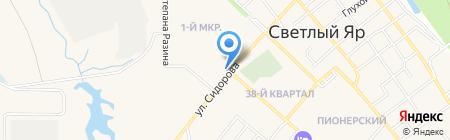Поволжский банк Сбербанка России на карте Светлого Яра