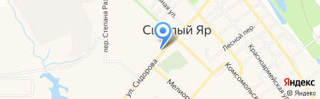 Банкомат КБ Петрокоммерц на карте Светлого Яра