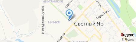 Территориальная избирательная комиссия Светлоярского района Волгоградской области на карте Светлого Яра