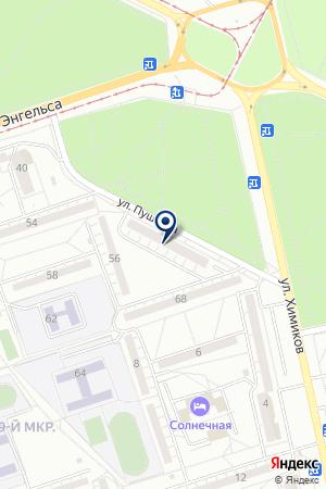 МАГАЗИН АВТОЗАПЧАСТИ НА ИНОМАРКИ на карте Волжского
