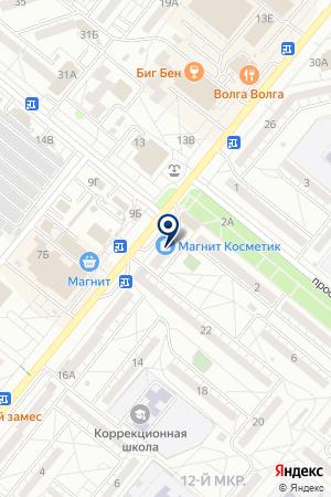 ПРОКОМ на карте Волжского