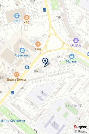 ФЛОРА-МОСКВА КБ на карте Волжского