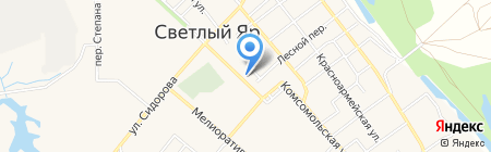 Нотариус Степанова И.А. на карте Светлого Яра