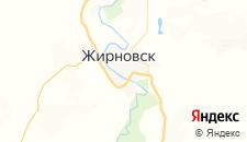 Гостиницы города Жирновск на карте