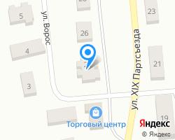 Схема местоположения почтового отделения 157301