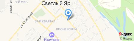 Магазин сантехники на карте Светлого Яра