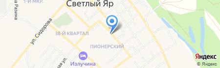 Продуктовый магазин на карте Светлого Яра