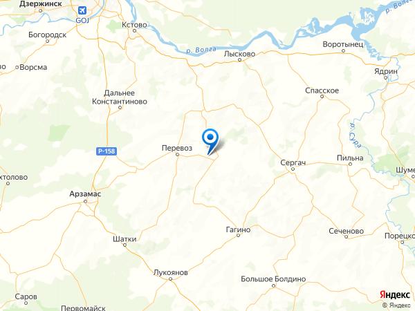 село Смагино на карте