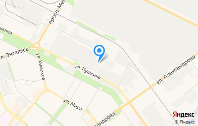 Местоположение на карте пункта техосмотра по адресу Волгоградская обл, г Волжский, ул Пушкина, д 45Б/1