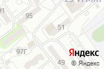 Схема проезда до компании 5 оборотов в Волжском