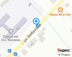 Схема местоположения почтового отделения 363104