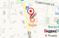 Схема проезда до компании МАНИПУЛЯТОР 58 в Богословке