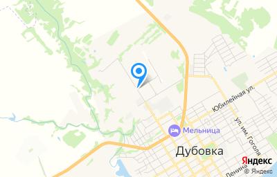 Местоположение на карте пункта техосмотра по адресу Волгоградская обл, г Дубовка, ул Харьковская, д 90А
