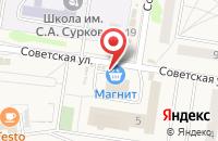 Схема проезда до компании Мебельная компания в Богословке