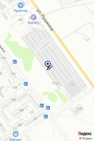 ГСК ВЕГА на карте Волжского
