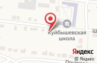 Схема проезда до компании Фельдшерско-акушерский пункт в Куйбышеве